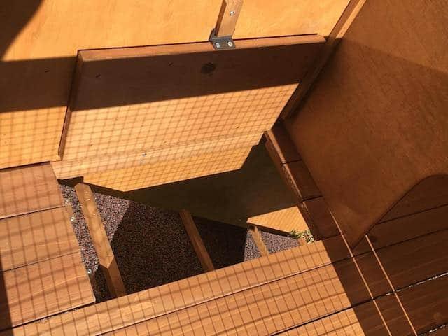 Ramp Access to Silvio Enclosure