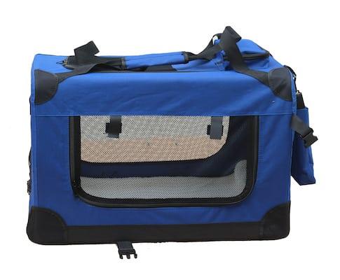 Blue Pet Carrier