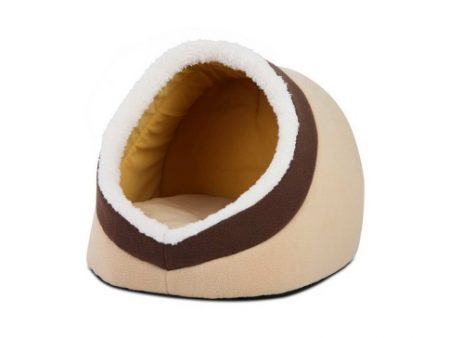 Brown Igloo Cat Bed