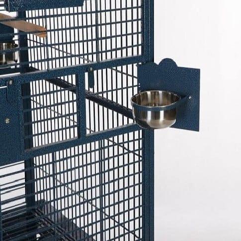Food Bowls on Bird Aviary