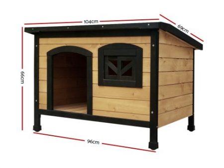 Medium Timber Kennel Dimensions