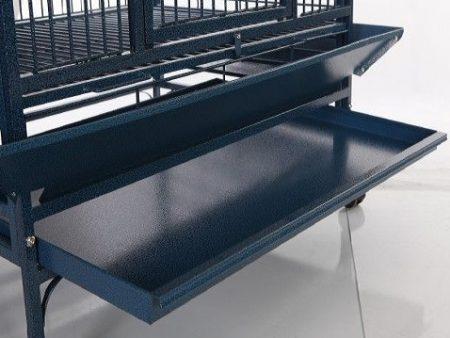 Pullout Tray on Bird Aviary