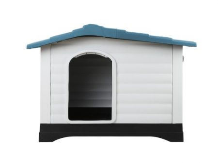 Side View of XL Plastic Kennel