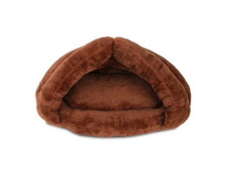 XL Brown Cavebed Dog Bed