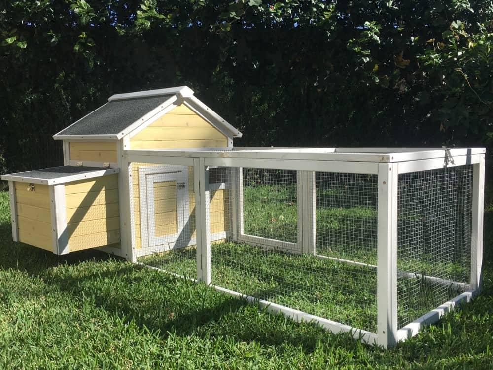 Yellow Cottage Chicken Coop